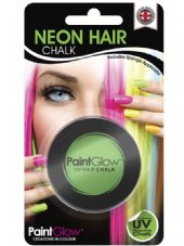 Paint Glow Neon UV Hair Chalk - Green